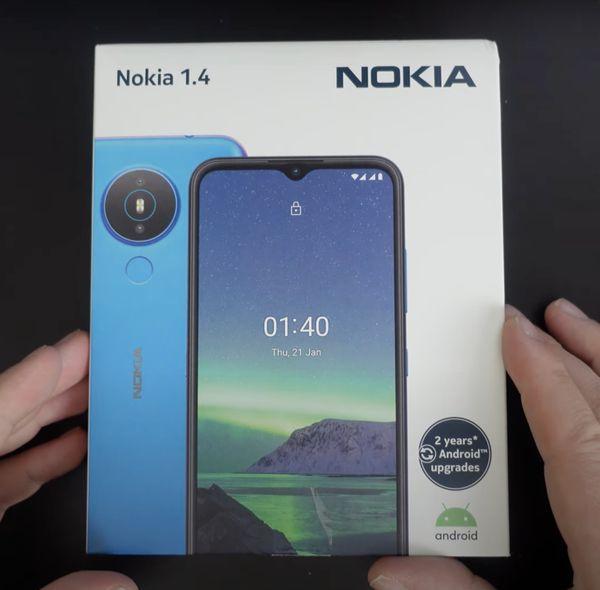 Nokia 1 4 32GB Grau