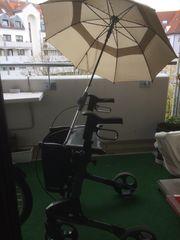 Rollator Topro Troja mit Schirm
