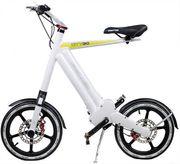 Car-Mate Pedelec E-Bike Weiss bis