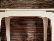 Stylische Hochglanz-Konsole auch als Homeoffice-Tisch
