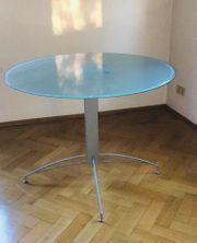 Stilvoller moderner und wertiger Glastisch