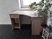 Moderner Schreibtisch Sonoma Eiche-Nachbildung