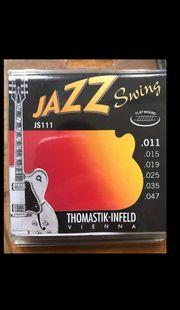Jazzgitarrensaiten