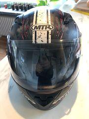 Motorradhelm Kind Größe 51-52