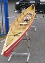 Ruderboot mit Rollsitz E-Zweier ohne