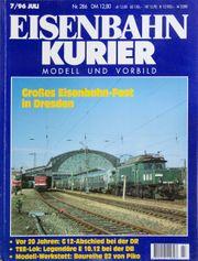 Eisenbahn Kurier Vorbild und Modell