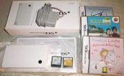 Nintendo DSi Konsole weiß-OVP Zubehör