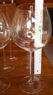 Schott Zwiesel Wein- Bordeauxgläser-Set - neuwertig