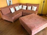 Wohnzimmer Couch Microfaser