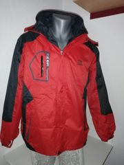 Outdoor Wind Regenjacke Rot Gr