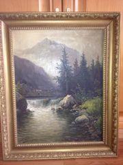 Gemälde von C Bürger