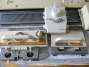 Brother Strickmaschine KH-860 mit Doppelbett