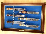 Tolle BOWIE KNIFE Sammlung