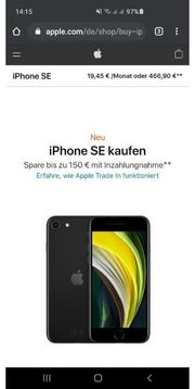 Iphone Se Neu 64 GB
