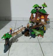 Abenteuer Playmobil Baumhaus