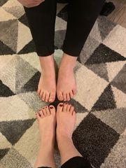 Interesse an unsere Füßen