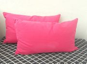 Kissenhüllen Sofa Wohnaccessoire Pink