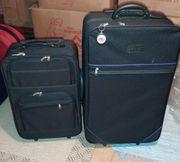 Verkaufe zwei Trolley Reisekoffer schwarz