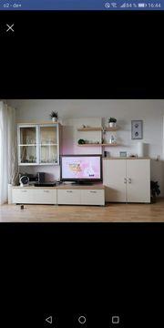 Wohnzimmerwand modern