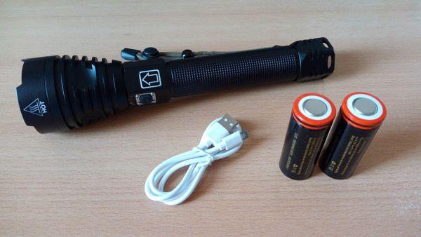 Taschenlampe XHP90 2 inkl 2x