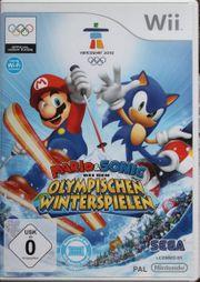 Nintendo Wii Spiel - MARIO Sonic