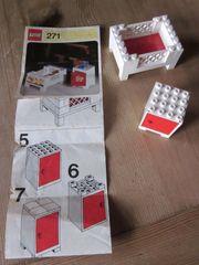 271 Lego Bett und Nachtkästchen