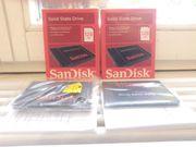 2 Scandisk neuwertige SSD Festplatten