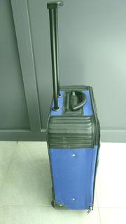 Trolley Koffer Marke Titan blau