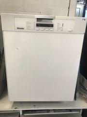 Geschirrspülmaschine Miele Unterbau Weiß Vollfront