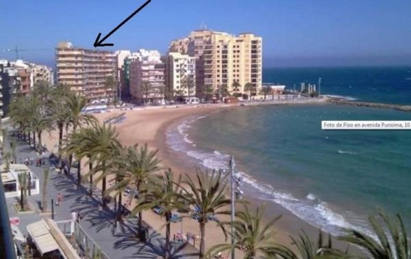 Spanien Torrevieja ferienwohnung direkt am