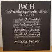 3 LPs 12 Bach Svjatoslav Richter