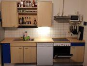 Küche mit Bar inkl Backofen