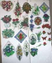 Verschiedene Blumenbilder DIN A 4