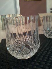 Whisky-Bleikristall-Gläser makelloser Zustand 6-er Set