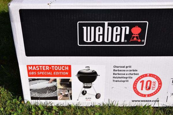 Weber Holzkohlegrill Master Touch Gbs 57 Cm Special Edition : Biete weber grill master touch cm gbs special edition in