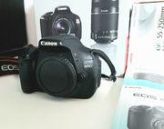 Neuwertige Canon 600 D kiss