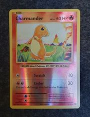 Charmander xy Evolution Reverse Holo