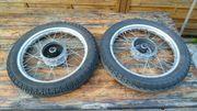 2 Räder für SIMSON auch