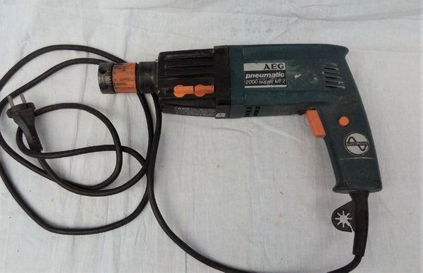 AEG Bohrhammer Pneumatic 2000 super MF2