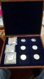 Münzensammlung 10 Mark Münze 2