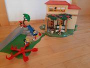 Playmobil Ferienhaus mit Spielplatz