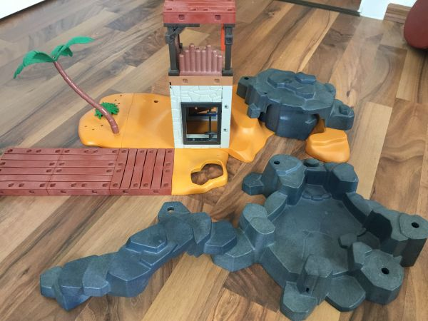 Playmobil Piraten Insel und Piraten