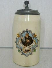 alter Maßkrug Klosterbrauerei München mit