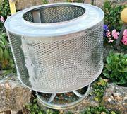 Edelstahl Waschmaschinentrommel mit Fuß bsp