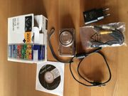 Olympus D-720 Digitalkamera - Silber HD