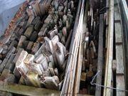 Brenn-Holz Latten Balken alle Holzarten