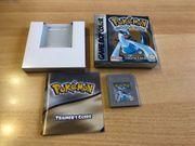 Nintendo Gameboy Pokemon Silber Spiel