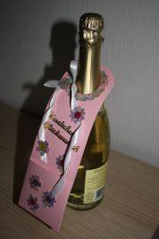 Flaschenbandarole - Handmade