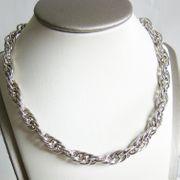 Halskette Silber 925er Kordel Sterlingsilber