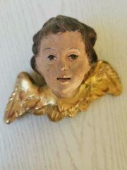 Alter antiker Engel Engelskopf Putto